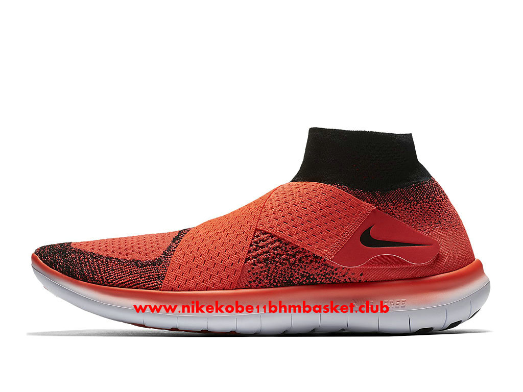 Chaussures De Running Nike Free RN Motion Flyknit 2017 Prix Pas Cher Pour Homme OrangeNoirBlanc 880845_600 1707040183 Chaussures Nike Kobe