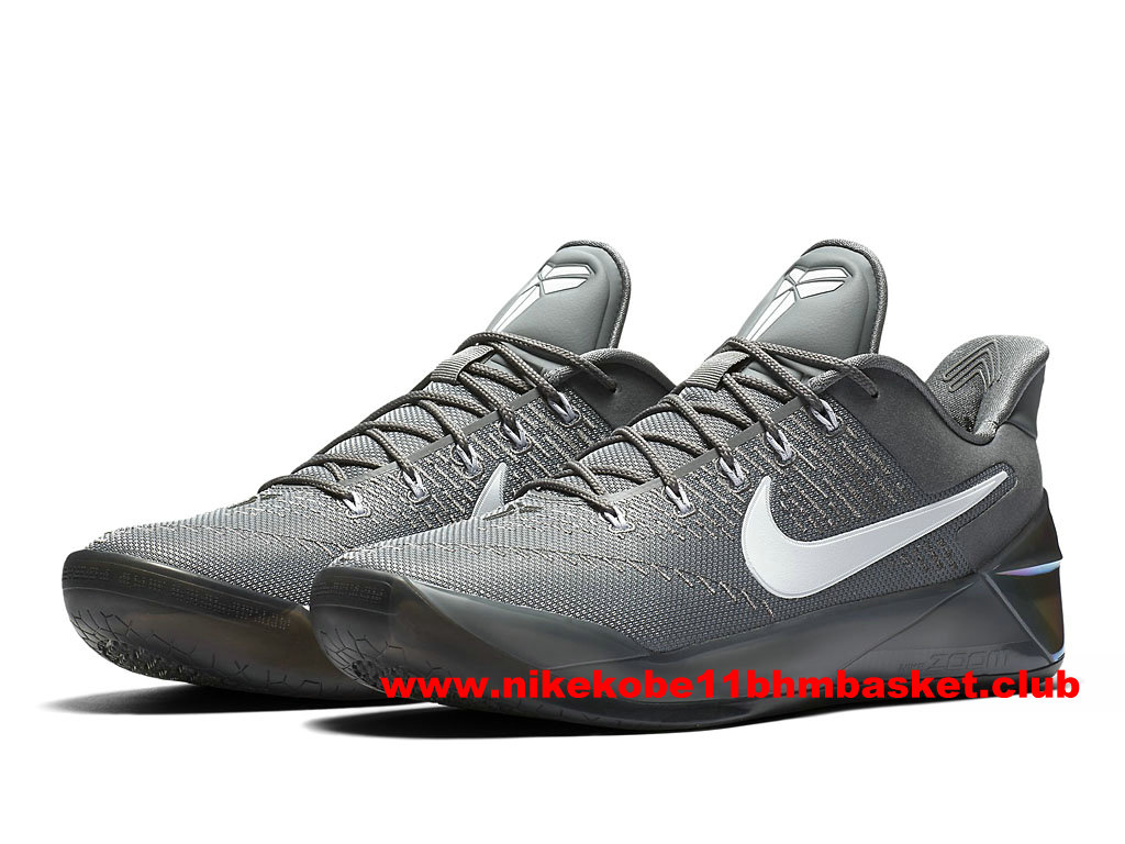 Chaussures Nike Kobe A.D. Prix BasketBall Pas Cher Pour Homme Cool GreyWhite 852425_010 1703030025 Chaussures Nike Kobe BasketBall Prix Pas Cher