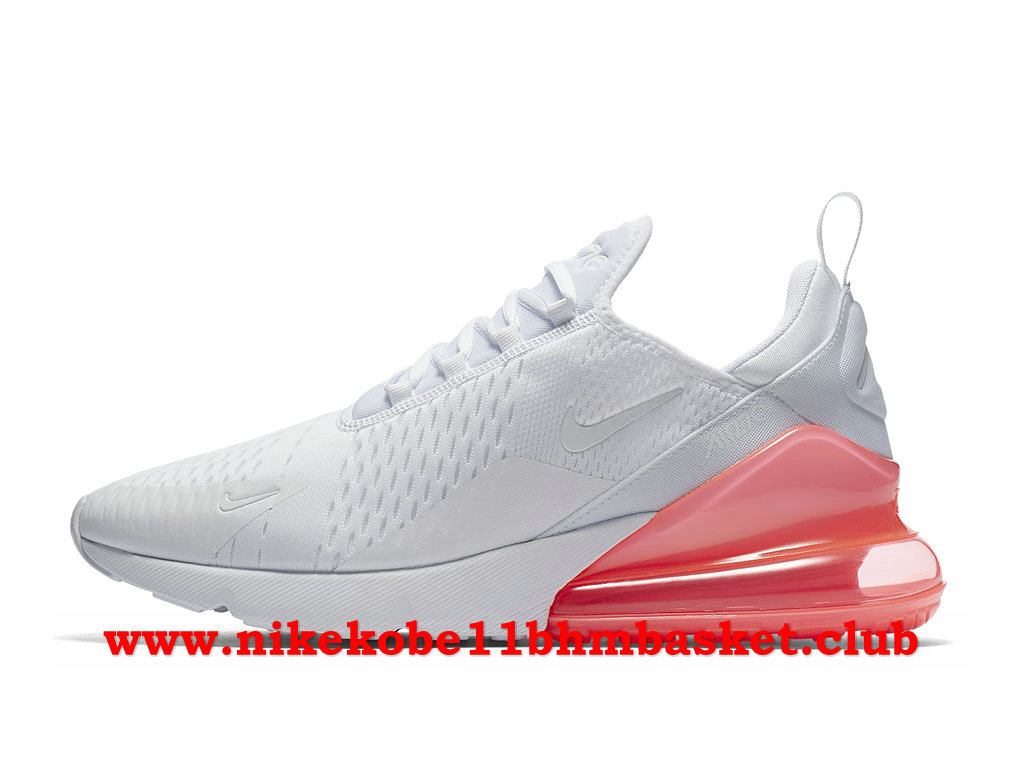 nike air max 270 rose et blanc