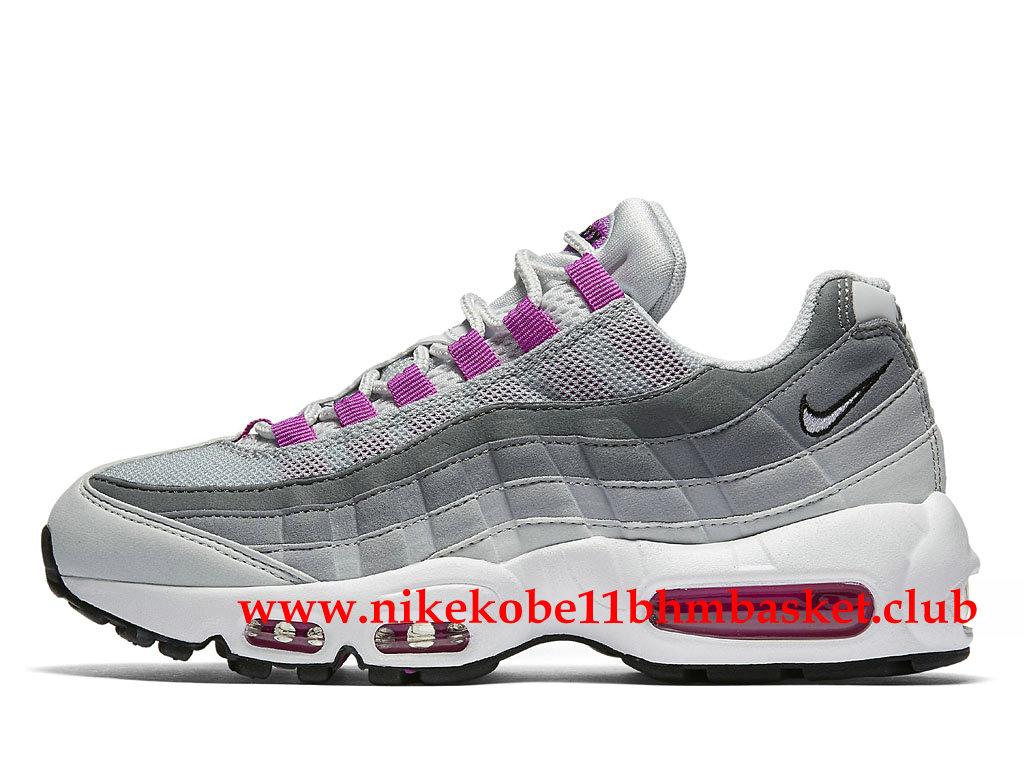 air max 95 rose et gris
