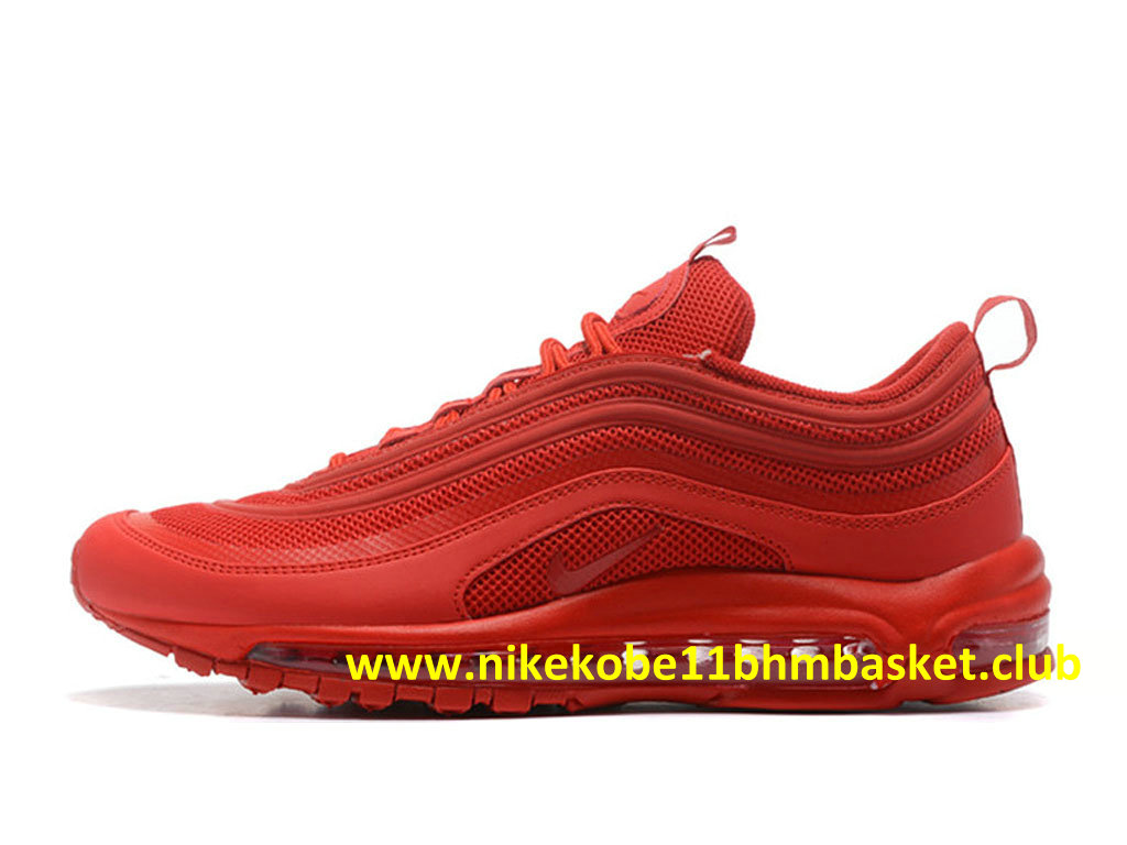 Nike Air Max 97 ID Homme Pas Cher Prix Red 1711200391