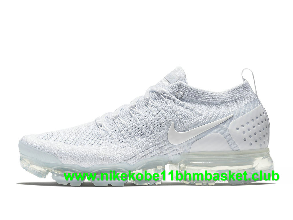 Nike Air VaporMax Flyknit 2.0 Homme Chaussures Pas Cher Prix Blanc 942842_100 1807210597 Chaussures Nike Kobe BasketBall Prix Pas Cher Site Officiel