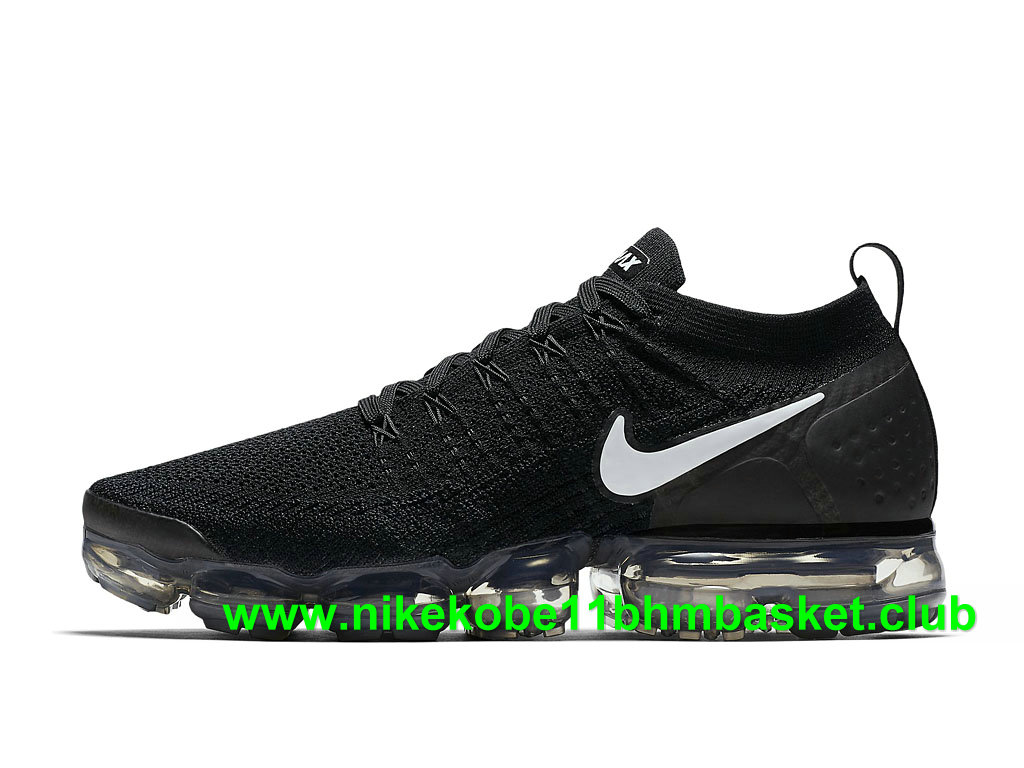 new style 32ce8 f212d Nike Air VaporMax Flyknit 2.0 Homme Chaussures Pas Cher Prix Noir/Blanc  942842_001-1807210591 - Chaussures Nike Kobe BasketBall Prix Pas Cher Site  Officiel ...
