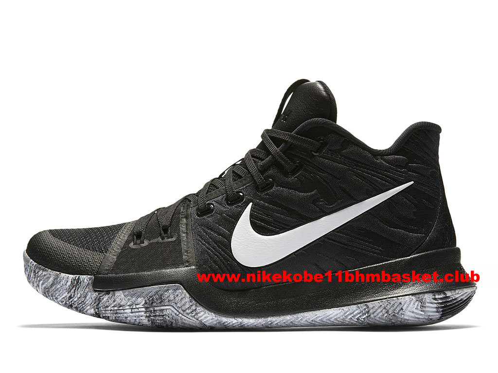 Nike Kyrie Low Chaussures Homme Prix Pas Cher NoirBlanc